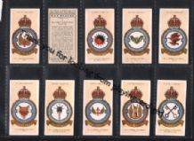 RAF Fighter and Bomber squadrons .cigarette cards set